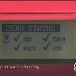 Portable safety G-TECTA gas detector
