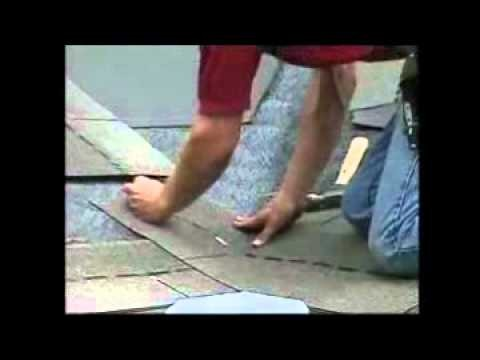 """Asphalt Shingles Roofing – How to Install Valley"" by RoofRepair101"