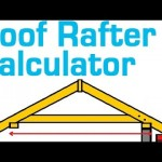 ROOF RAFTER CALCULATOR – Estimate Rafter Length, Cost and Quantity