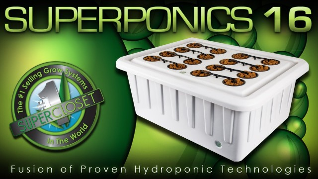 SuperPonics 16 – Best Hydroponic Indoor Grow System
