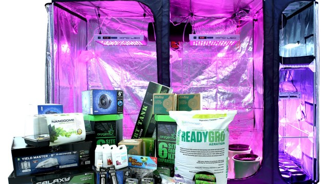Grow Tent Kit – Multi Chamber: Perpetual Harvest Grow Room
