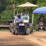 2015 Diesel garden tractor pulling. Mutual fire dept.Pa.