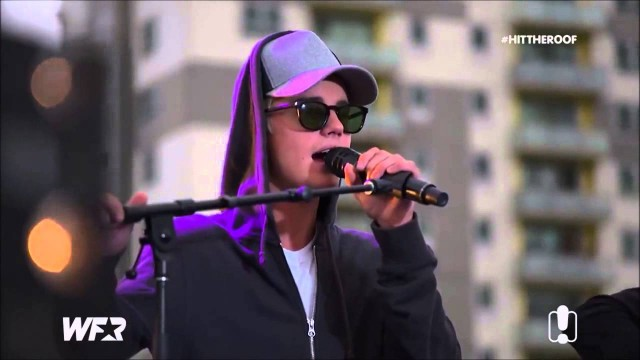 Justin Bieber – All That Matters – Live at Fox FM's Hit The Roof (Melbourne, Australia)