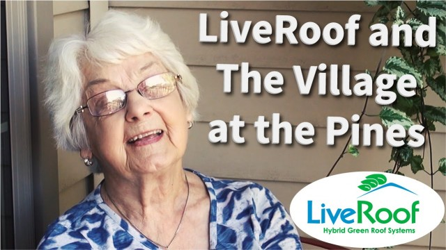 The Impact LiveRoof Vegetated Roofs Have on Senior Living Residents