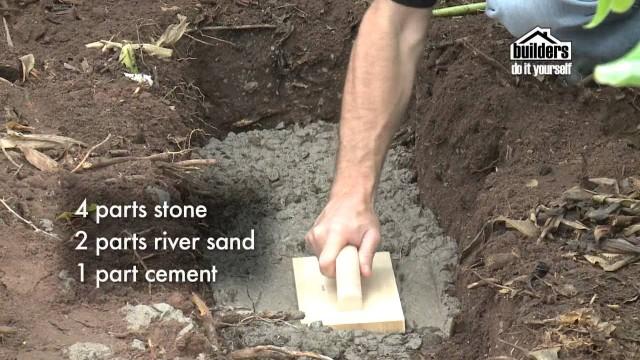 Builders DIY: Designing your Garden – Building a Retaining Wall & Seat