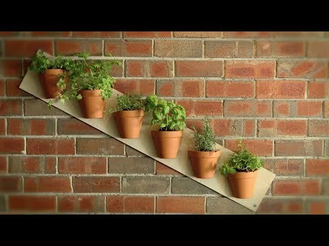 How To  Build Quick Vertical Garden Projects with Gardeniere Jim Cunneen