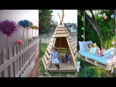 Pallet DIY Projects For Your Kids Playing In The Garden