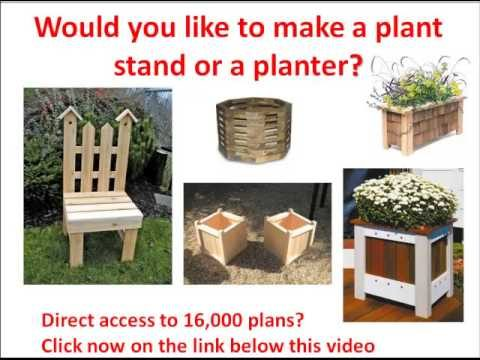 Wooden planter boxes plans: How to make a Wood planter plan? Planter drawings needed? (Click Here)