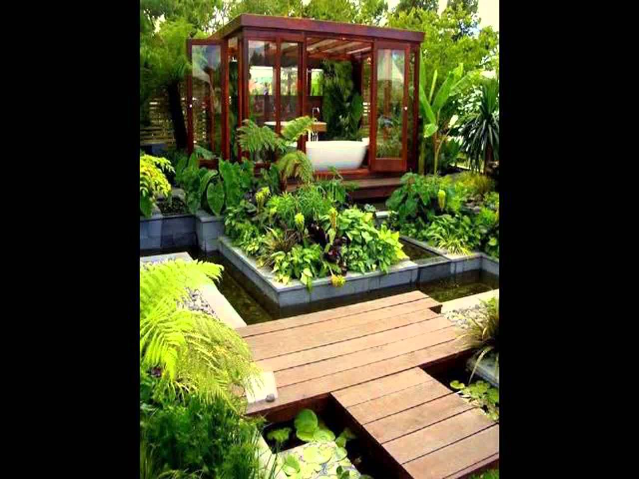 Dise o de jardines peque os gardening video forum for Estanque pequeno