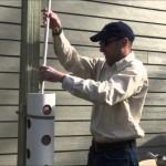 Go Garden Green Planters Single Valve Vertical Planter Installation