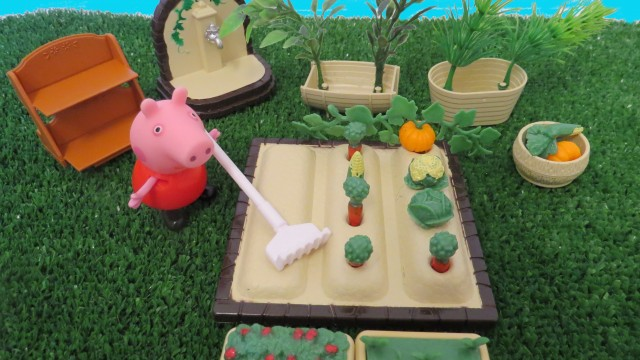 GARDENING Play Set How to Garden for Kids Vegetable Patch Sylvanian families Calico Critters Peppa