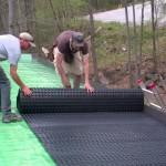 DIY living green roof installation