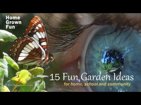 15 Fun Garden Ideas Volume One – Home Grown Fun!