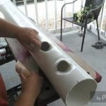 How to build a Hydroponic Raining Vertical grow tower Part 2
