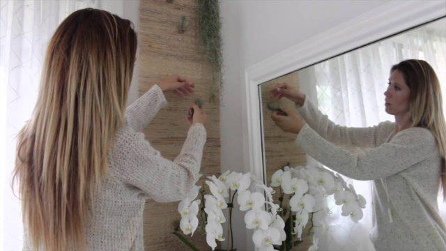 DIY Zen Inspired Living Wall Art Using Air Plants