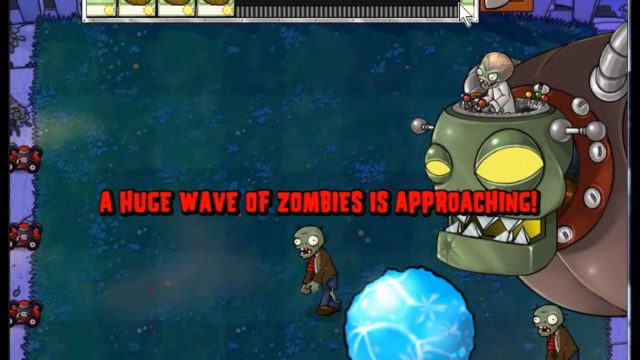 Plants vs Zombies Wall-Nut Bowling with Dr. Zomboss (Video Test)