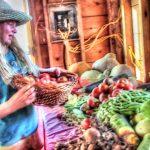 Hannah Harvesting Vegetables From The Garden July 27 | Homestead Kids