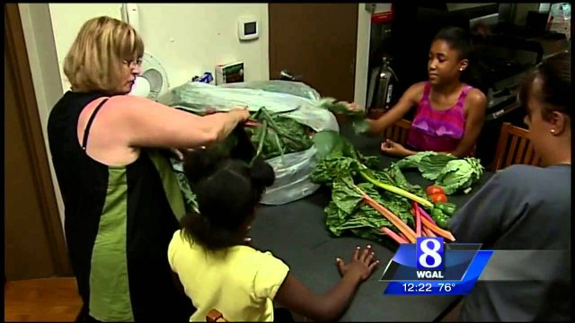 Female inmates learn about gardening and nutrition