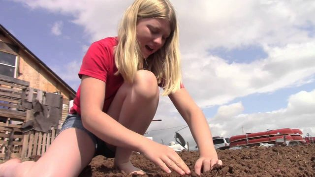 Food From Dirt: The Potato. Gardening For Kids | Homestead Kids