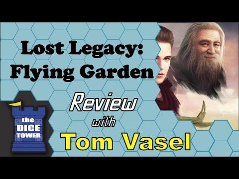 Lost Legacy: Flying Garden Review – with Tom Vasel