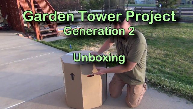 Garden Tower Project – Generation 2 – Unboxing
