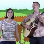 Growing in the Garden | Kids Music | Kids Video | Silly Bus | Garden