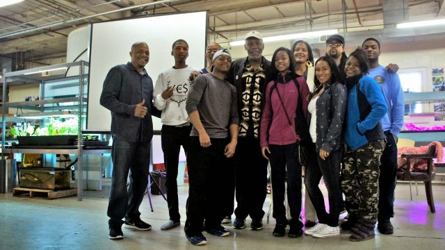 Danny Glover Visits the Chicago State University Aquaponics Center – Young Enterprising Society