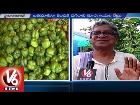Roof Gardening | Special Focus on Vegetable Gardening on top of Roof | Hyderabad – V6 News