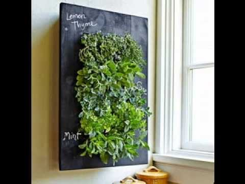 Vertical herb gardens ideas
