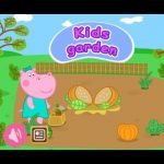 Kids Garden, Baby Hippo Learning and educational farm games for kids by Hippo Kids Games