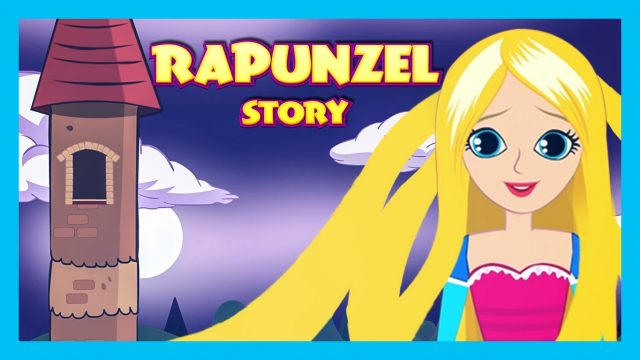 RAPUNZEL Story for Kids in English | Fairy Tales for Children | Full Story