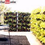 Vertikaler Garten Auf Balkon Sichtschutzzaun