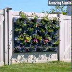 Einfache Vertikale Garten Wand DIY