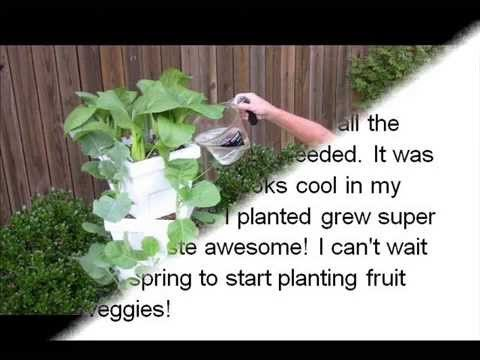 Magic Tower Vertical Garden 2 Tower Organic Vegetable, Herb, Fruit Garden