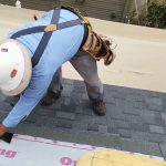 Steep roof installation , how to do it.