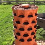 Garden Tower Project – Filling with Soil