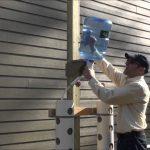 Go Garden Green Planters Double Valve Vertical Planter Installation