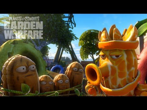 Plants vs. Zombies: Gardens & Graveyards Wall Nut Hills Night