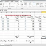 Comprotex Home building Roof Shingle Calculator in Excel Instructional Video