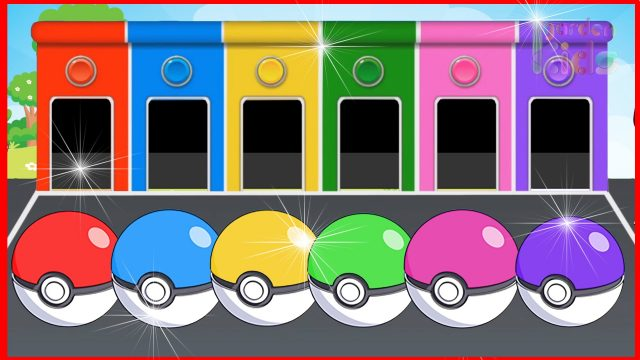 New #Pokemon Go for #Kids – Learning Colours with #Masha  #PokemonGo and Play Toys #03