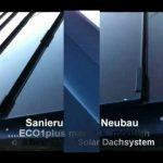 ECO1plus Energie Effizienzdach, Multifunktionale BIPV – GIPV
