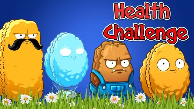 Plants vs. Zombies 2 Health Wall-Nuts Challenge (Plantas Contra Zombies 2)