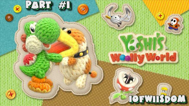 Yoshi's Wooly World Part 1: Yarn Yoshi Takes Shape