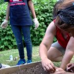 Camp NOW Urban Gardening Service Learning Project