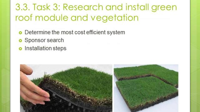 Green Roof Proposal Presentation by Brittany Barnes
