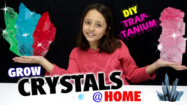 GROW CRYSTALS AT HOME!  DIY Traptanium / Skylanders Fun w/ Sky Girl Lexi  (TRAP TEAM)