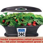 MiracleGro AeroGarden Ultra Indoor Garden with Gourmet Herb Seed Kit