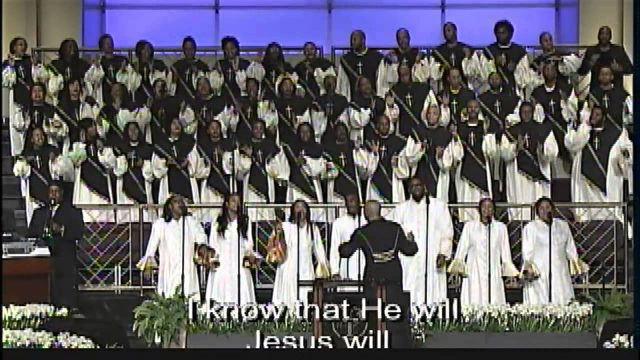 """""""Jesus Will"""" Young Adult Choir"""