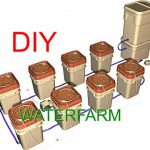 DIY (Waterfarm)Build a multiple bucket hydroponics system.(Dutch bucket)
