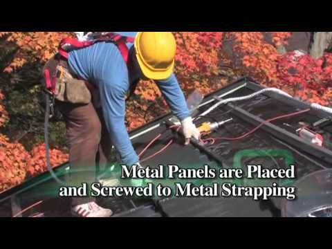 EcoRoof – Installing an All Steel Roof